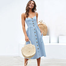 Load image into Gallery viewer, Party Boho Sundress Women Summer Dress