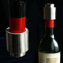 Load image into Gallery viewer, 1Pc Stainless Steel Vacuum Wine Bottle Stopper