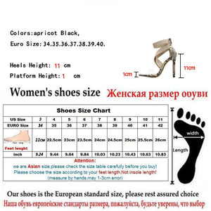 Open Toe Stiletto High Heels Stretch Fabric Shoes