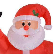 Load image into Gallery viewer, Inflatable Air Blown Christmas Santa Claus 240cm W/LED