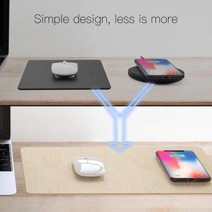 JAKCOM MC2 Wireless Mouse Pad Charger Hot sale in Smart Accessories As automatic inductive charging Waterproof desktop-Mouse mat, wireless charger-Drop it when its Hot