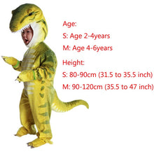 Load image into Gallery viewer, New Triceratops Costume Kids Little T-Rex Costume Dinosaur Jumpsuit