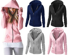 Load image into Gallery viewer, Classic Solid Slim Fit Hoodie