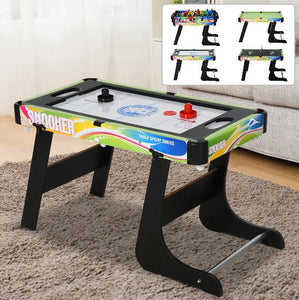4-in-1 Indoor Game Room Sports Table