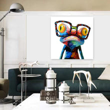 Load image into Gallery viewer, Modern Abstract Wall Art Painting Frameless Colorful Frog Home Decoration Gift