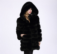 Load image into Gallery viewer, Hoodie plush, Plus size, thick long warm coat