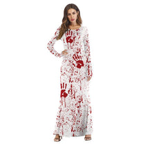Load image into Gallery viewer, Halloween Costumes COS Dress Up Ghost Long Sleeve Dress