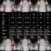 Load image into Gallery viewer, Halloween Leggings Women Witch Pumpkins Lantern Elastic Digital Printed Workout Pants