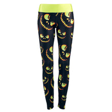 Load image into Gallery viewer, Women Leggings Pumpkin Lantern Printed Pants