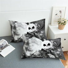 Load image into Gallery viewer, Bedding Pillowcase Halloween 3D Print