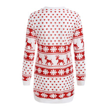 Load image into Gallery viewer, Ladies Christmas Long Pullover