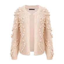 Load image into Gallery viewer, Hairball pink cardigan Autumn/winter