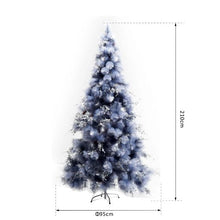 Load image into Gallery viewer, 210H cm, Christmas Tree With Replica Berry And Spruce (Grey)