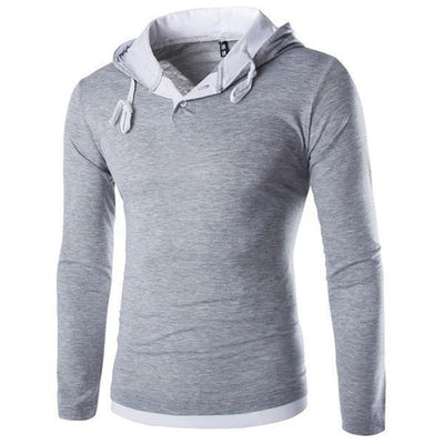 Cotton Slim Fit Hoodie