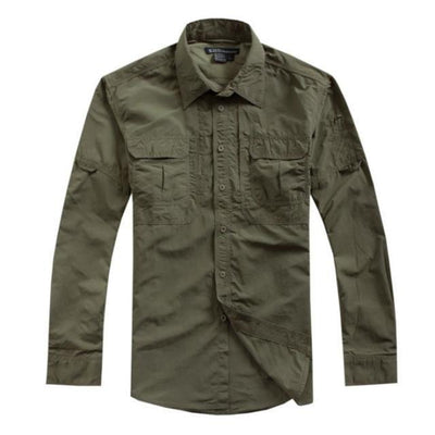 Urban Military Button Up