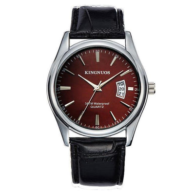 Casual Relogio Leather Watch