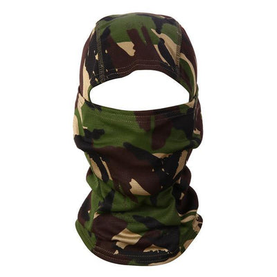 Tactical Camo Facemask
