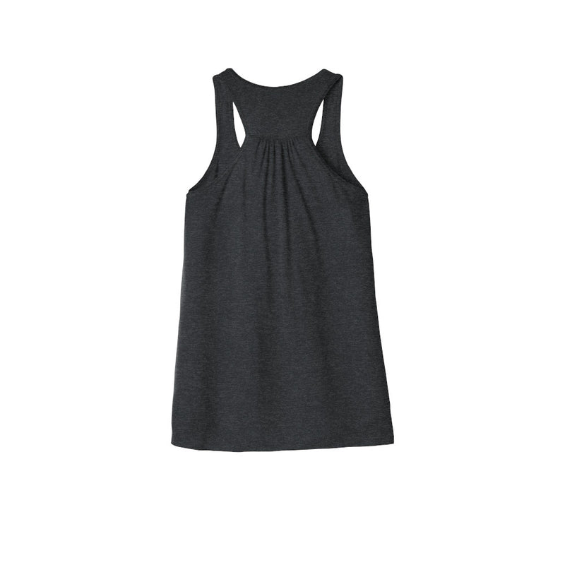 bella canvas Women's Flowy Racerback Tank