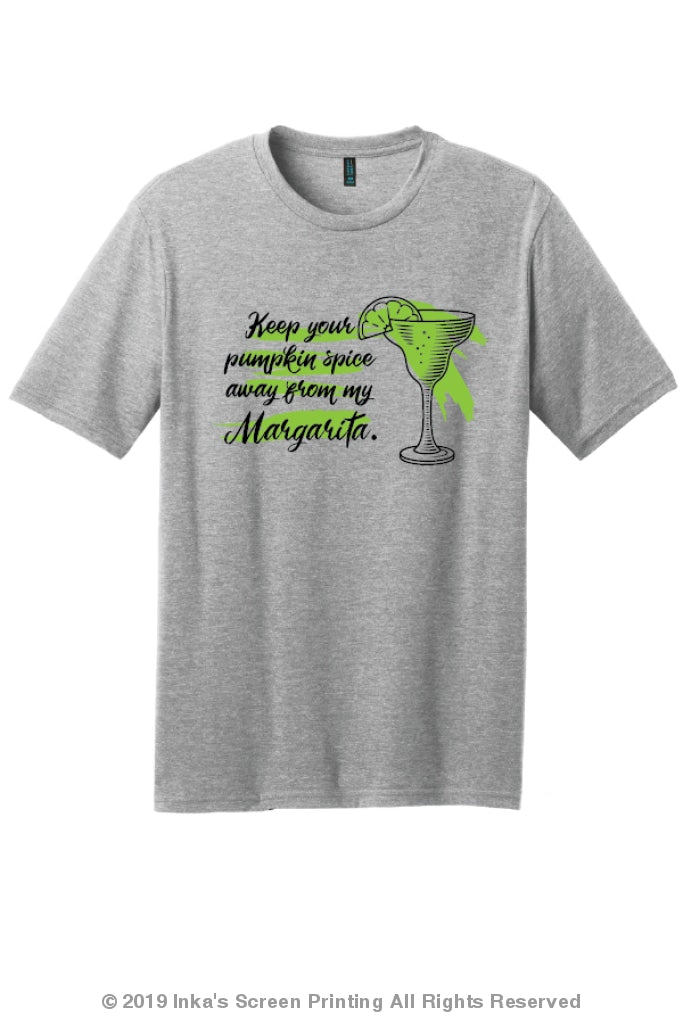 Keep Your Pumpkin Spice Away From My Margarita S / Unisex Printed Apparel