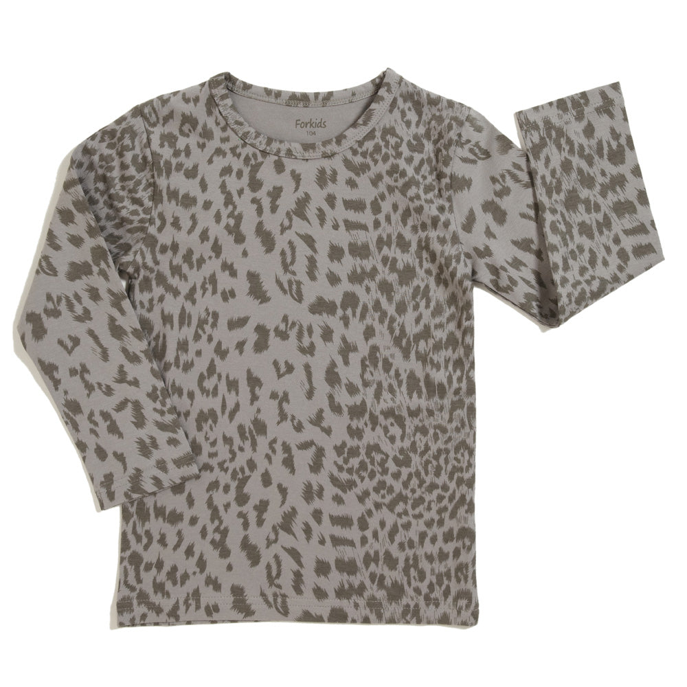 Bluse leopard