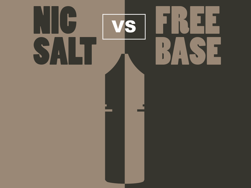 New To Vaping? All You Need To Know About Freebase And Salt Nic
