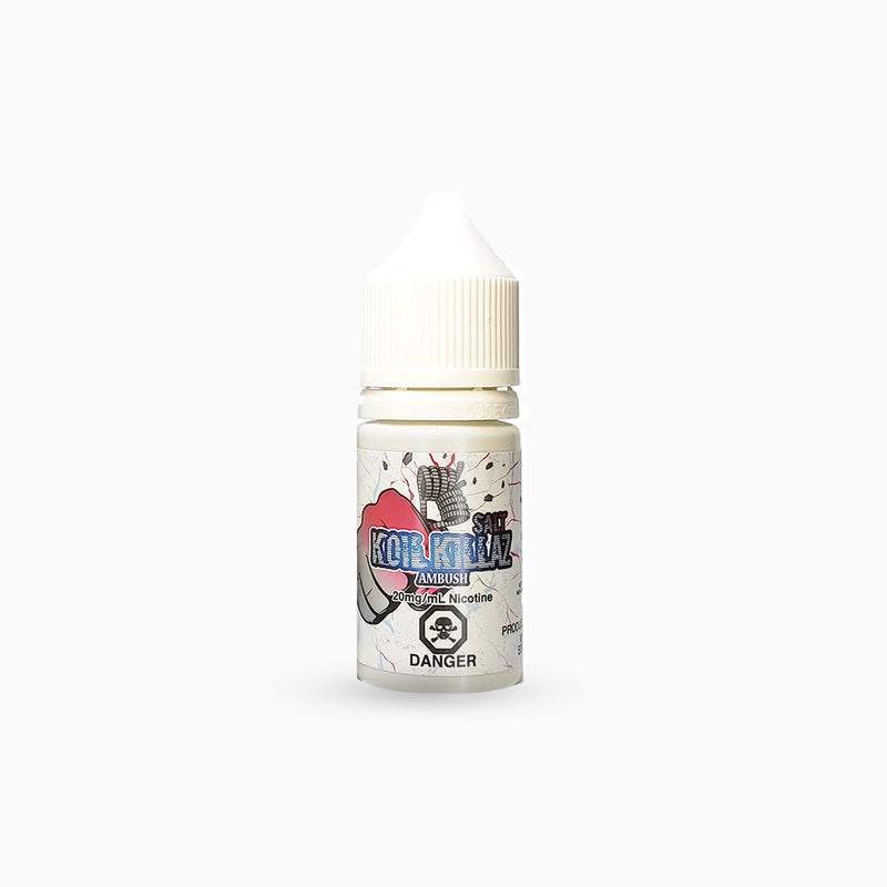 Koil KIllaz Polar Salt E-liquid - Ambush Polar salt 30ml - Koil Killaz Toronto