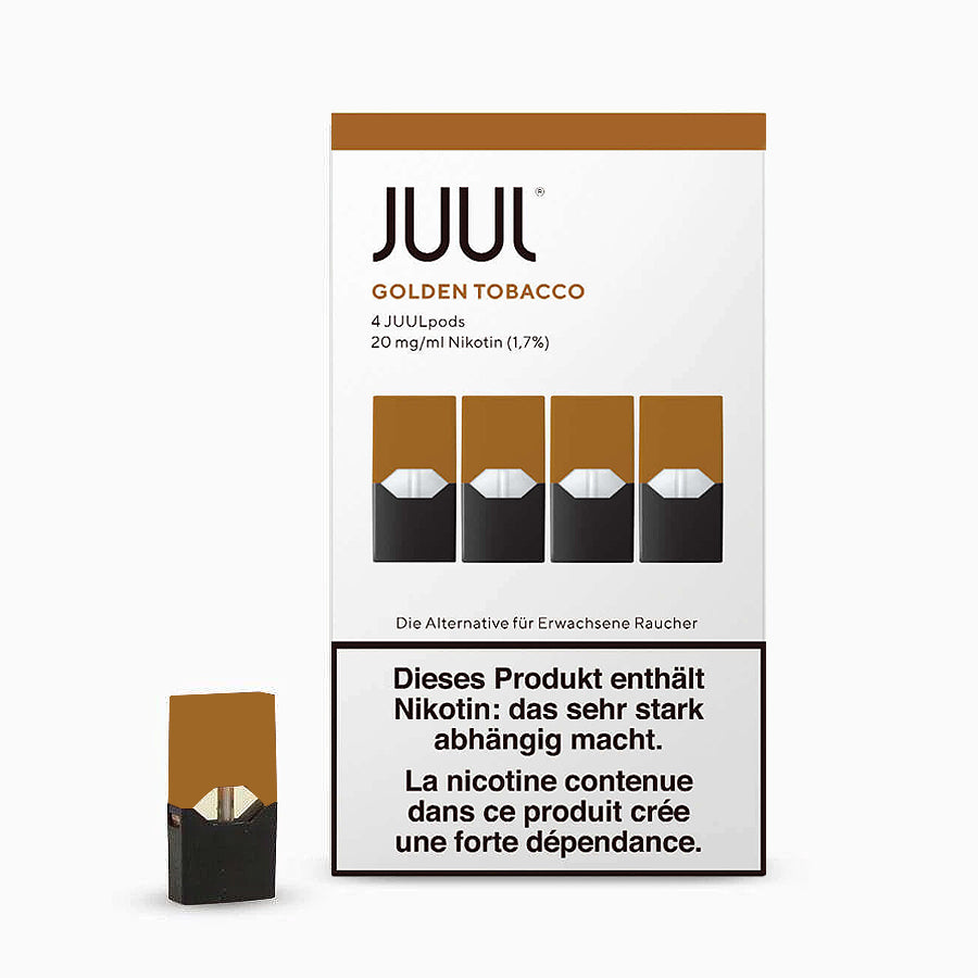 JUUL PODS (GOLDEN TOBACCO)