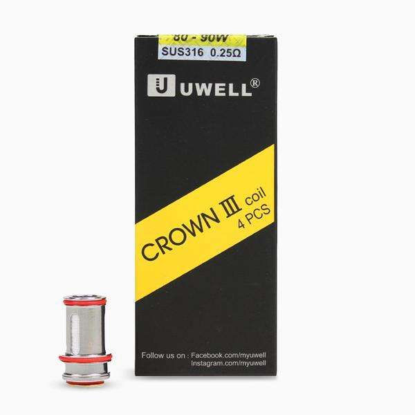 CROWN 3 COILS (4 PACK)