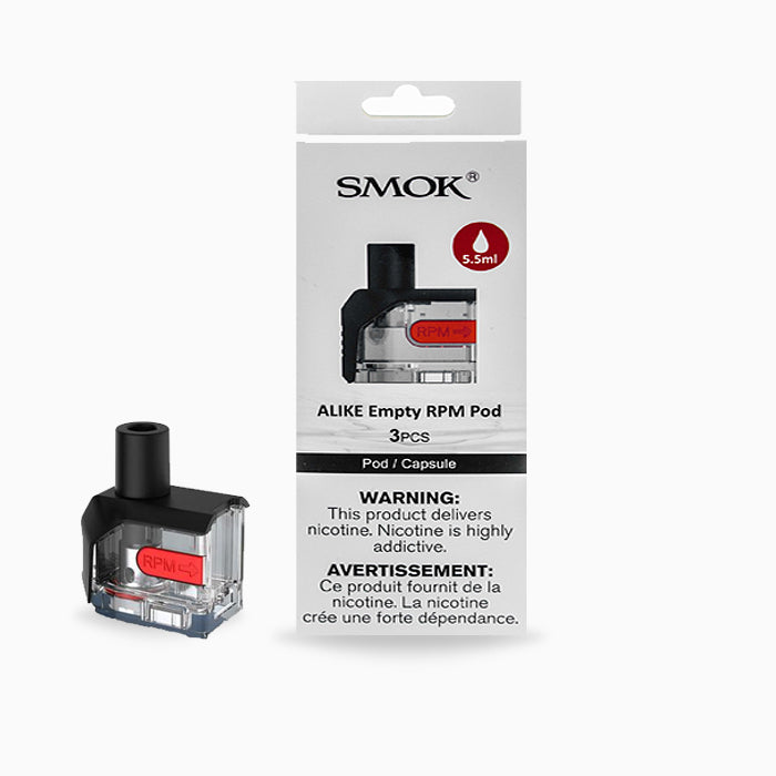 SMOK ALIKE REPLACEMENT POD (3 PACK)