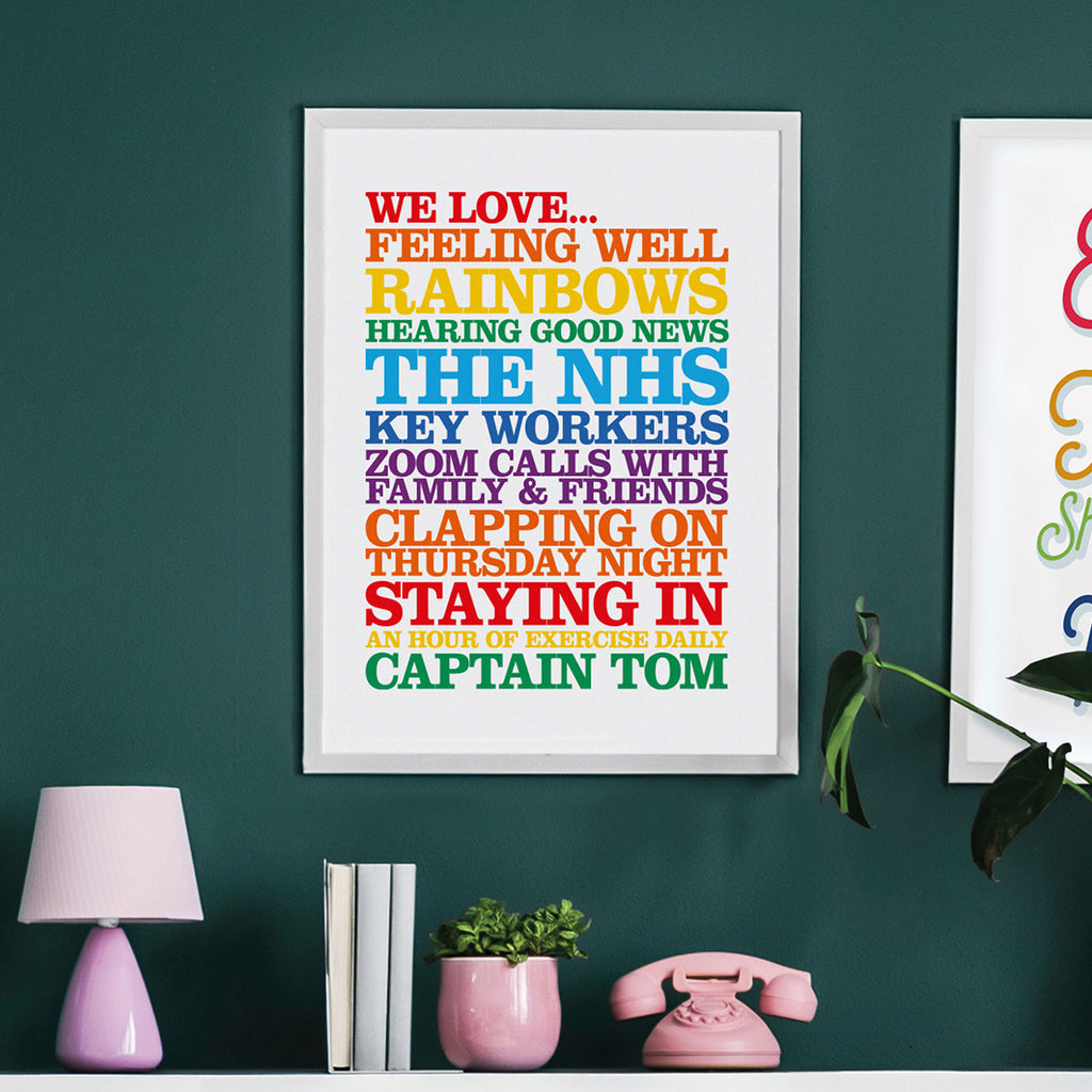 NHS & Key Worker Print