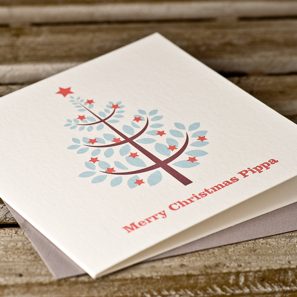 Personalised 'Christmas Sparkle' Card