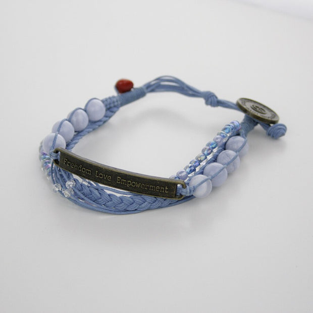Kyal Beaded Bracelet - Made for Freedom