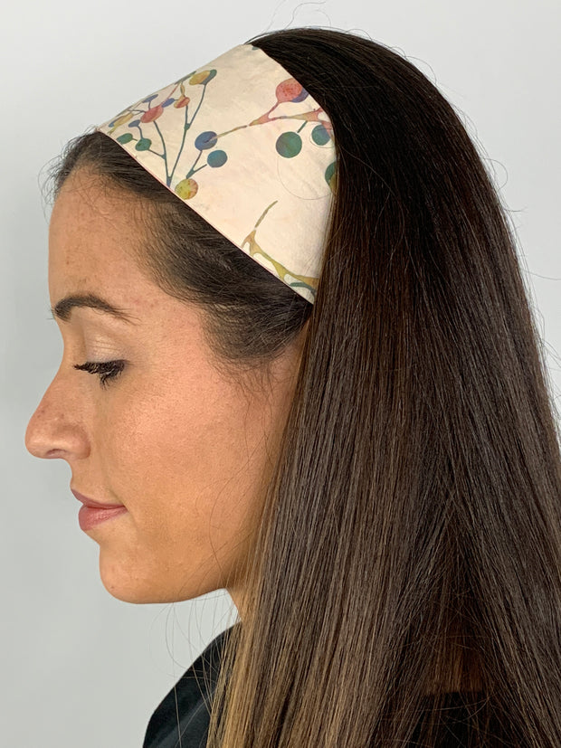 Cherry Blossom Reversible Headband