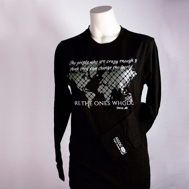 Crazy Enough Unisex Long Sleeve Tee - Made for Freedom