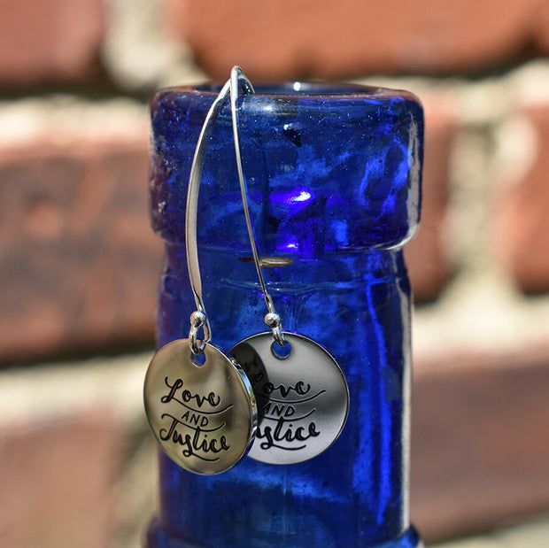 Dangle Justice Earrings - Made for Freedom