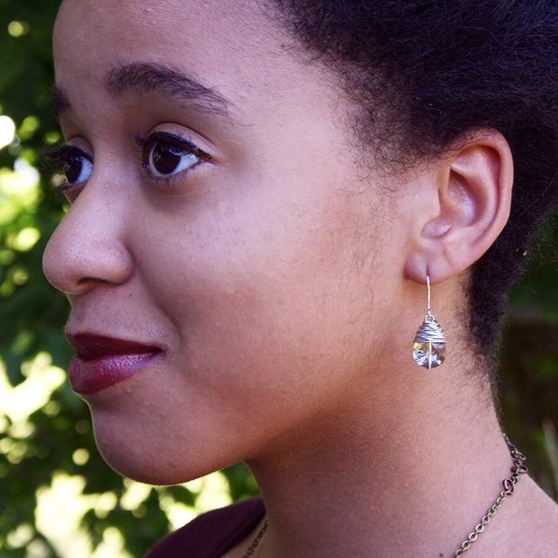 Bridget Crystal Earrings - Made for Freedom