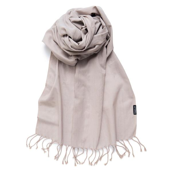 cream scarf 85 x 25.5 inches / 216 x 65 cm