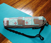 Teal Goddess Yoga Mat Bag