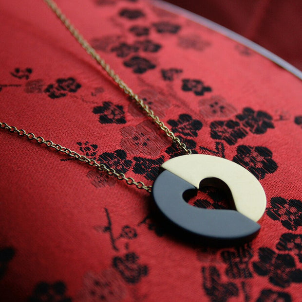 Committed Heart Necklace (352)