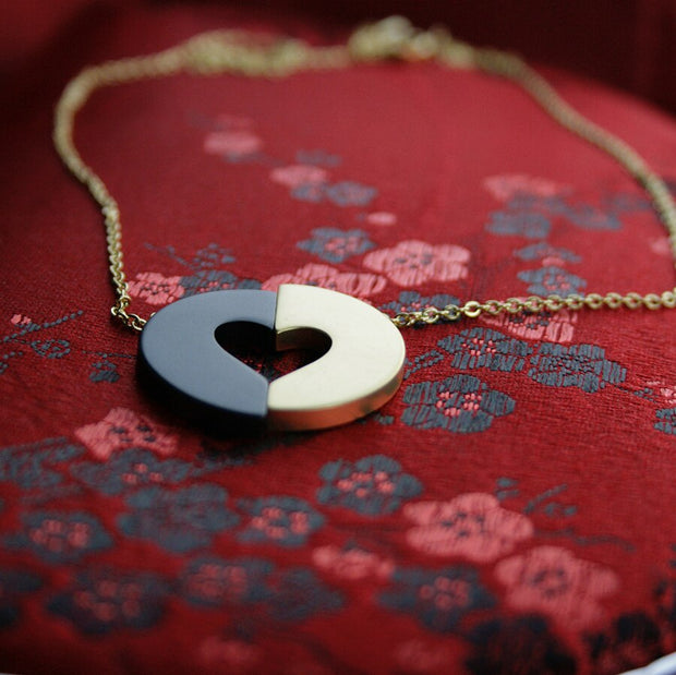 Committed Heart Necklace - Made for Freedom