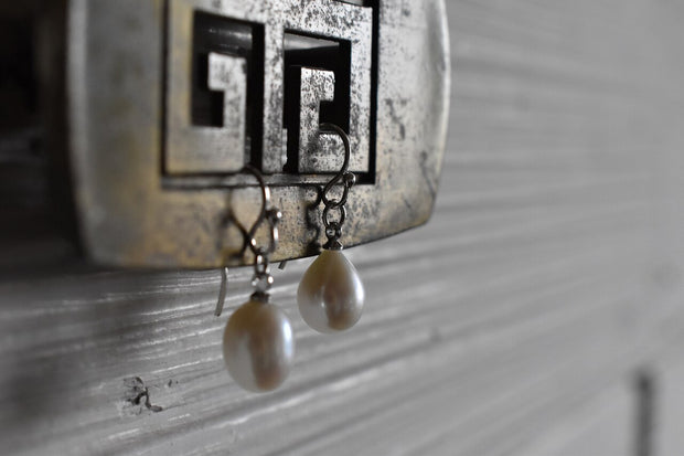 Classic Pearl Earrings - Made for Freedom