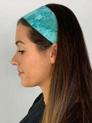 Scuba Swirl & Sea Mist Reversible Headband