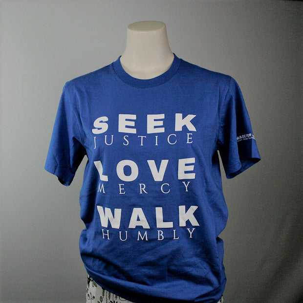 Seek Justice Tee - Made for Freedom