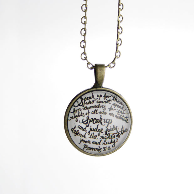 Speak Up Necklace (110)
