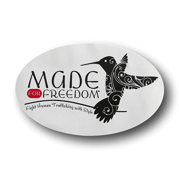 Window Decal (Removable) - Made for Freedom