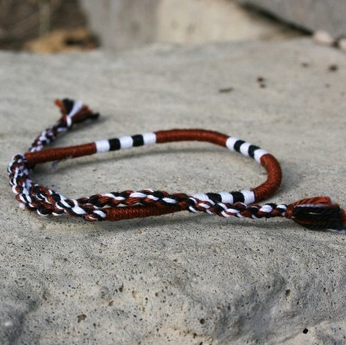 Woven Bracelet - Latte - Made for Freedom