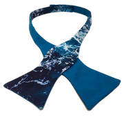 Ocean Foam Bow Tie - Made for Freedom
