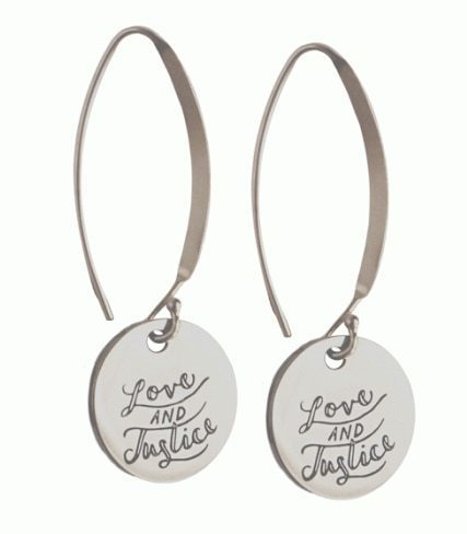 Dangle Justice Earrings