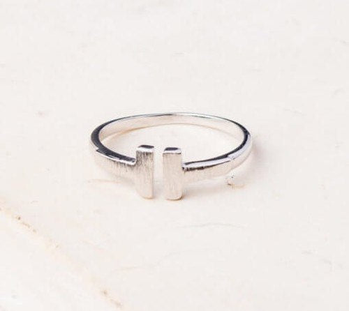 Mercy Silver Ring - Made for Freedom