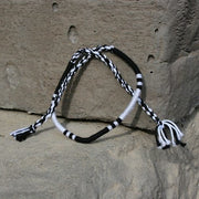 Woven Bracelet - Black & White - Made for Freedom